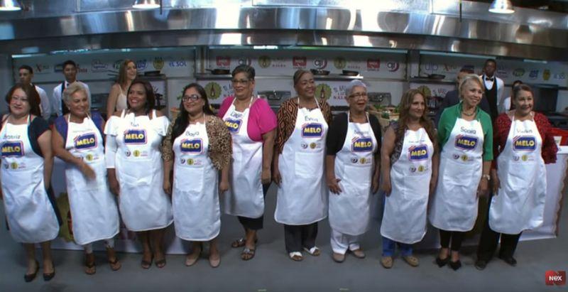 Primer Programa Mi Abuela Tiene Salsa Nex